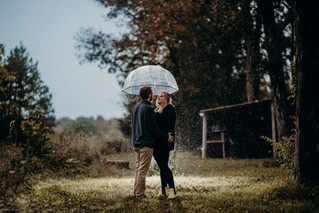 Emily + Trevor : A Downpour of Affection