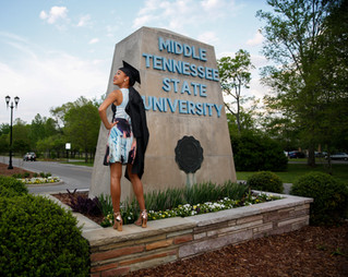 Brea: Middle Tennessee State Graduate