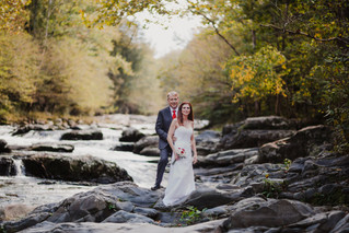 Mark + Donna: Gatlinburg Wedding