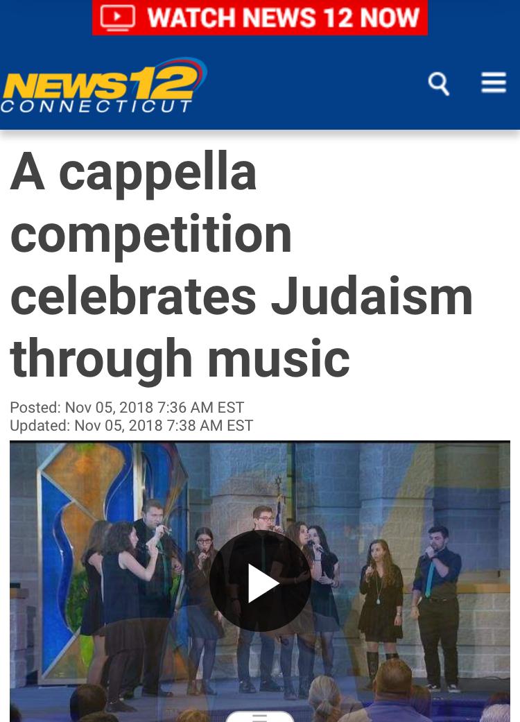 A Capella Competition News 1