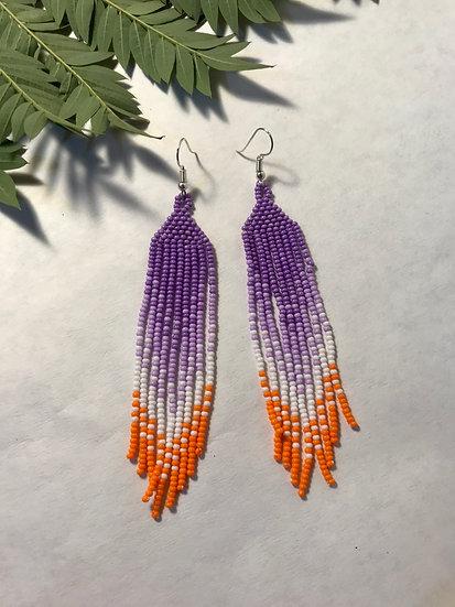 Purple and Orange Amelia