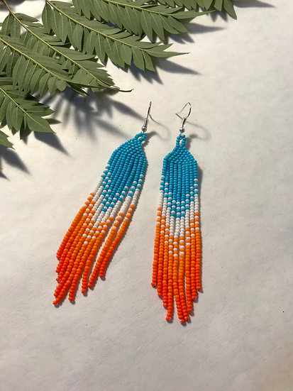 Blue and Orange Amelia