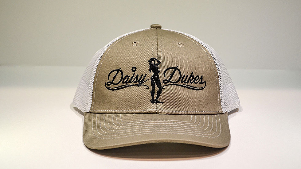 Daisy Dukes Trucker Hat (Tan)