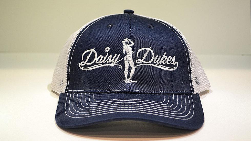 Daisy Dukes Trucker Hat (Navy)