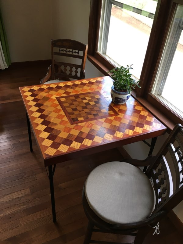 The Cottage Chess Board