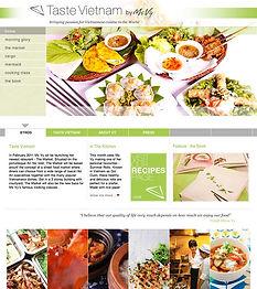CLIENT: Vietnamese Celebrity TV Chef - tastevietnam.asia