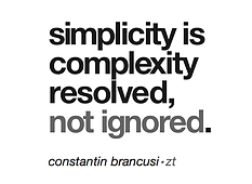 Typography: Simplicity is complexity resolved - https://ziggytashi.com