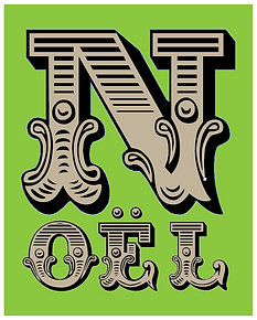 Typography: Noël 1 - https://ziggytashi.com