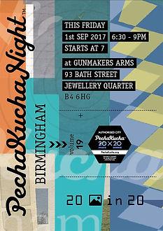 Client: PechaKucha 20x20 Night event promo poster - https://ziggytashi.com