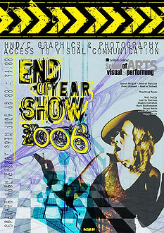 Client: Solihull College & University Centre - End of Year Art Exhibition - promo poster - https://ziggytashi.com