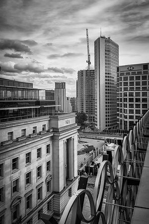 Birmingham Alpha Tower and Baskerville House