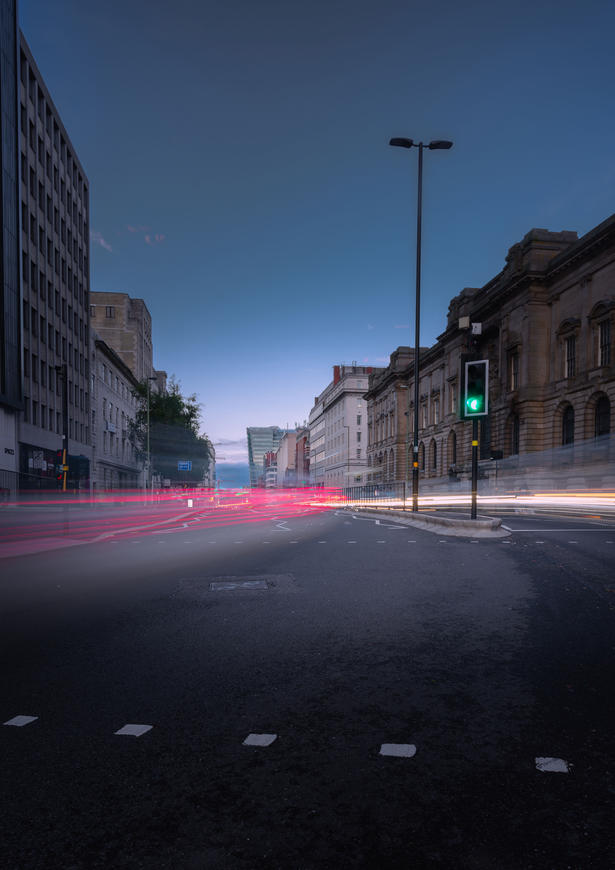 Lights On Great Charles Street