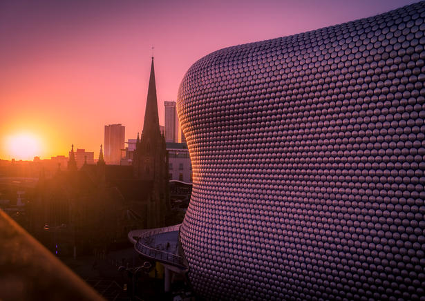 Sunset Selfridges (A4 and A3 only)
