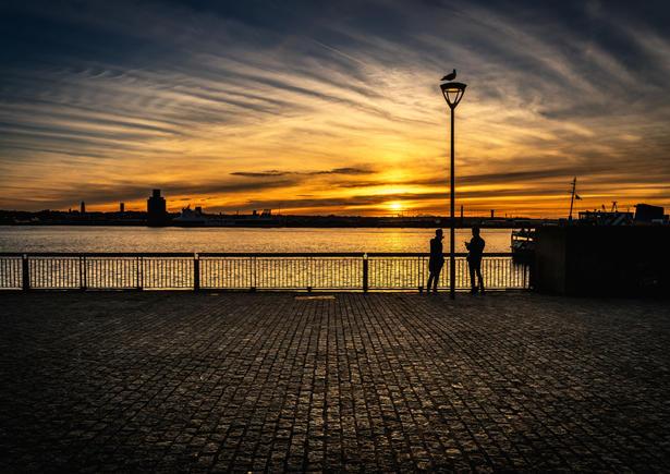 Mersey Sunset 2