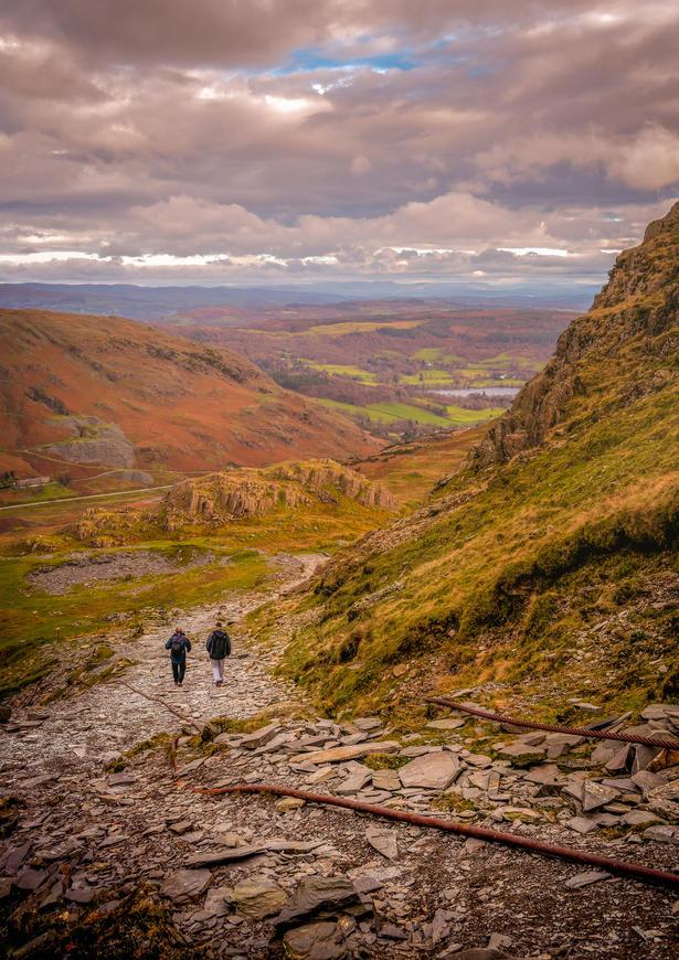 Path Down Coniston