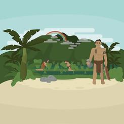Old Hawaiian Days