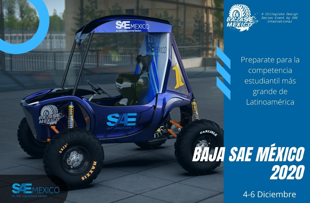 Competecia Virtual BAJA SAE México