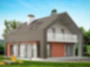 Современный дом недорого