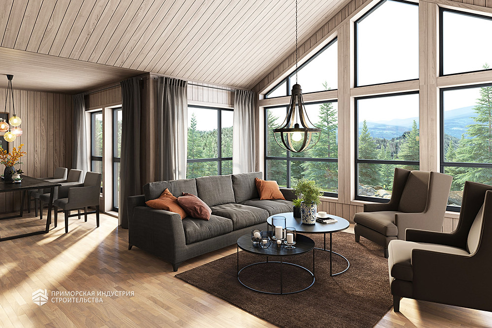 Строительство красивых современных домов
