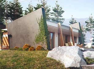 Проект совреенного дома Владивосток