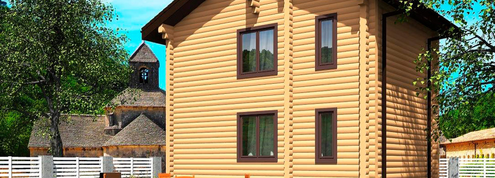 Проект деревянного дома B-005