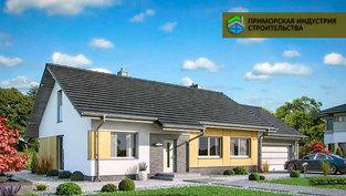Проект одноэтажного дома H-006