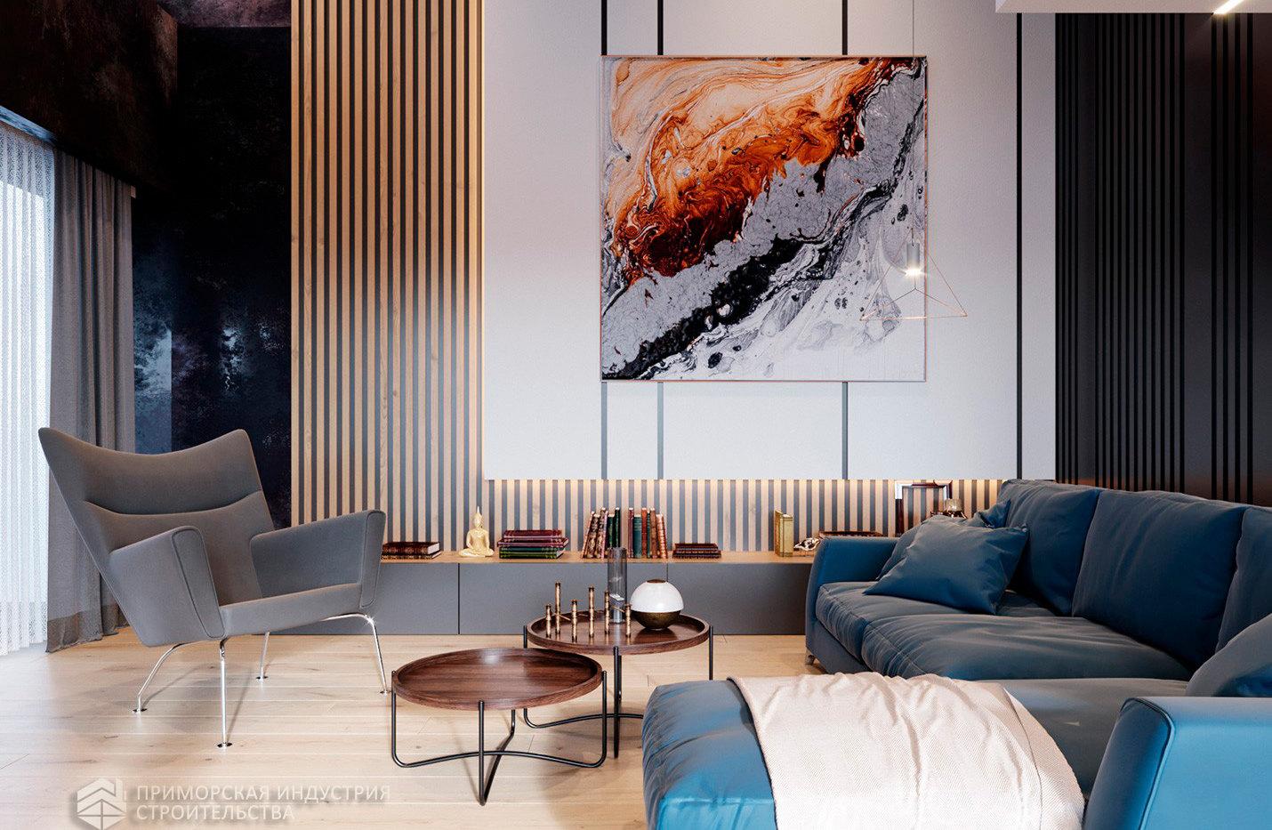 Интерьер дома FACHWERK-146
