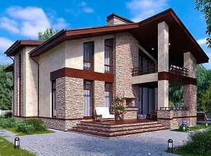 Проекты домов два этажа