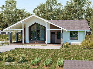 Проект одноэтажного дома Владивосток