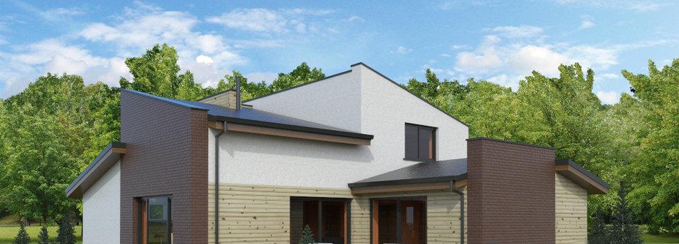 Проект дома с мансардой G-005