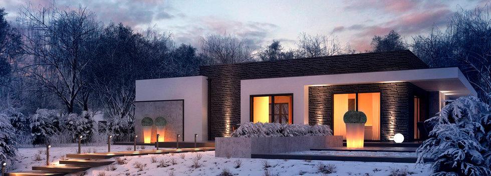 Проект одноэтажного дома STYLE-006 