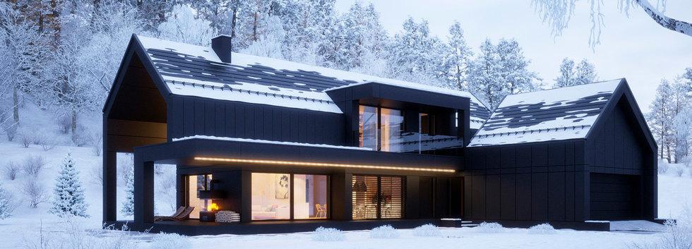 Дизайн-проект дома FACHWERK-146