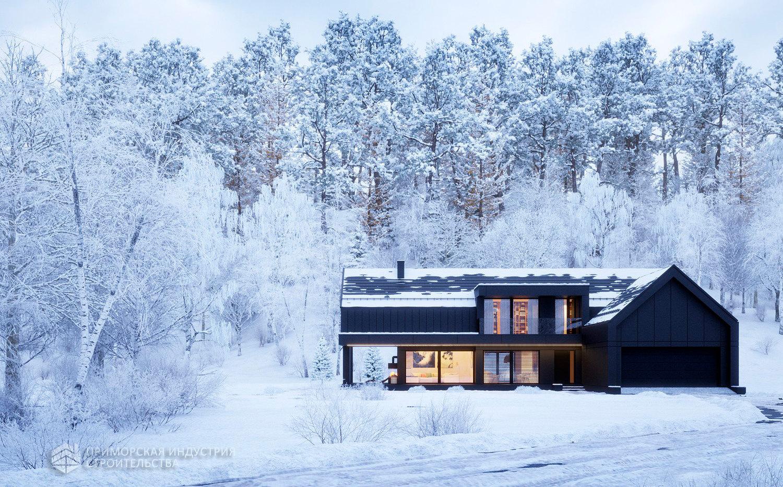 Проект дома FACHWERK-146