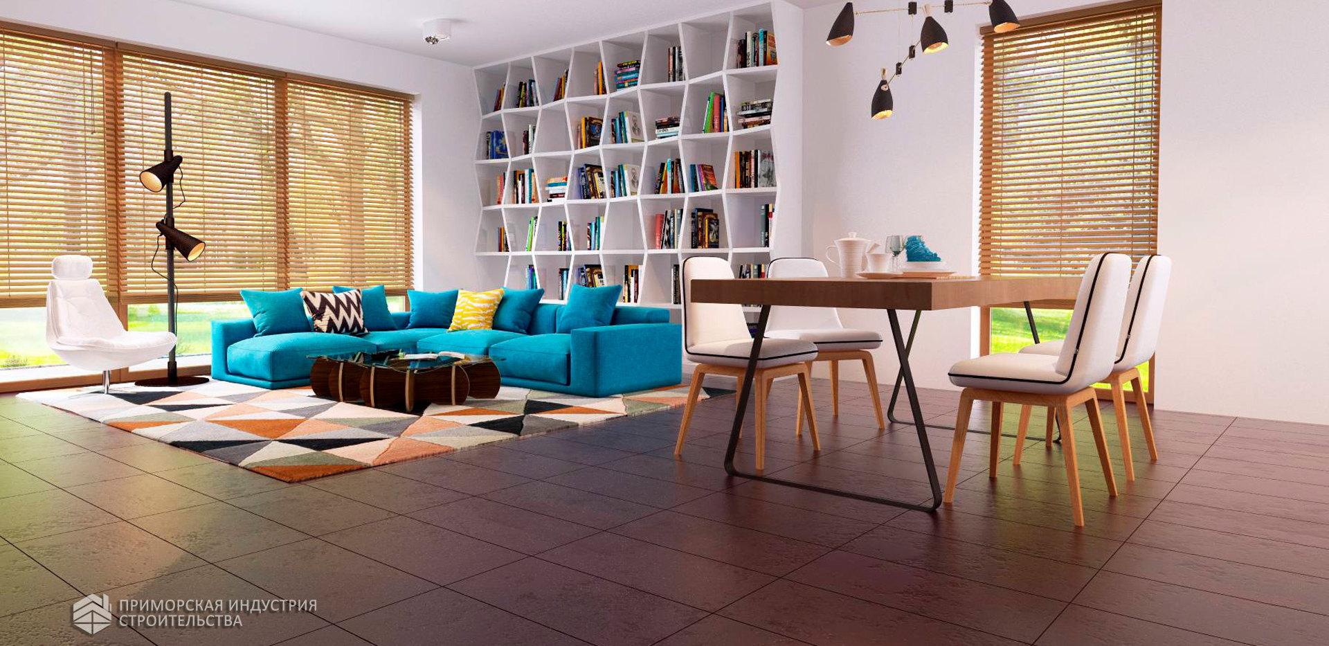 Интерьер современного дома HAUS-0-09