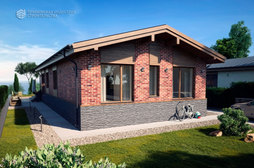 Проект одноэтажного дома BR-031