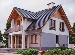 Проект дома с мансардой Владивосток