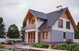 Проект дома с мансардой HR-021