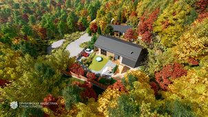 Проект одноэтажного дома A-011