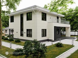 Ультрасовременный дом строительство