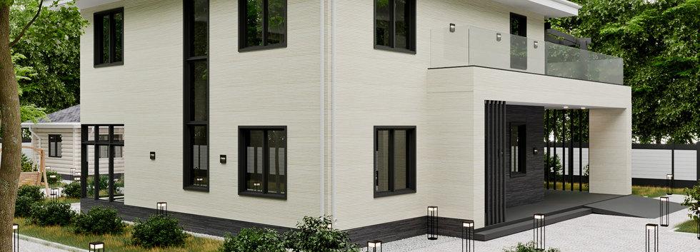 Проект ультрасовременного дома AP-001