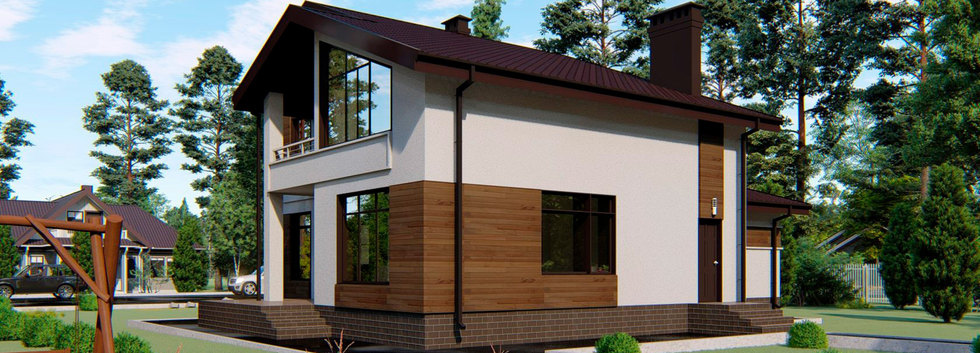 Проект дома HAUS-0-03