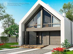 Привлекательный дизайн дома
