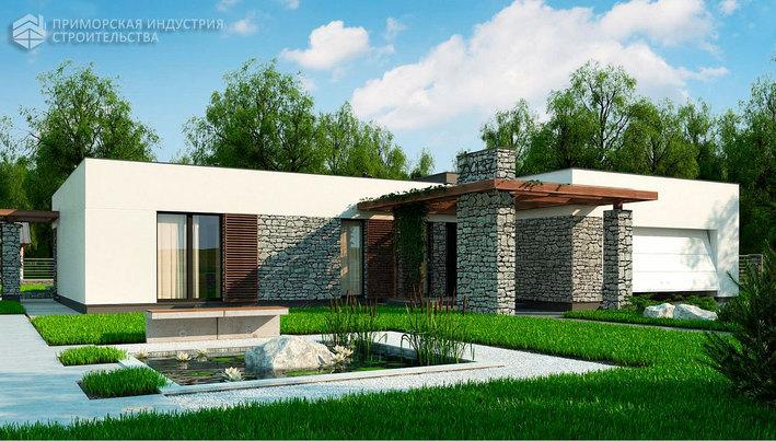 Проект дома HAUS-006
