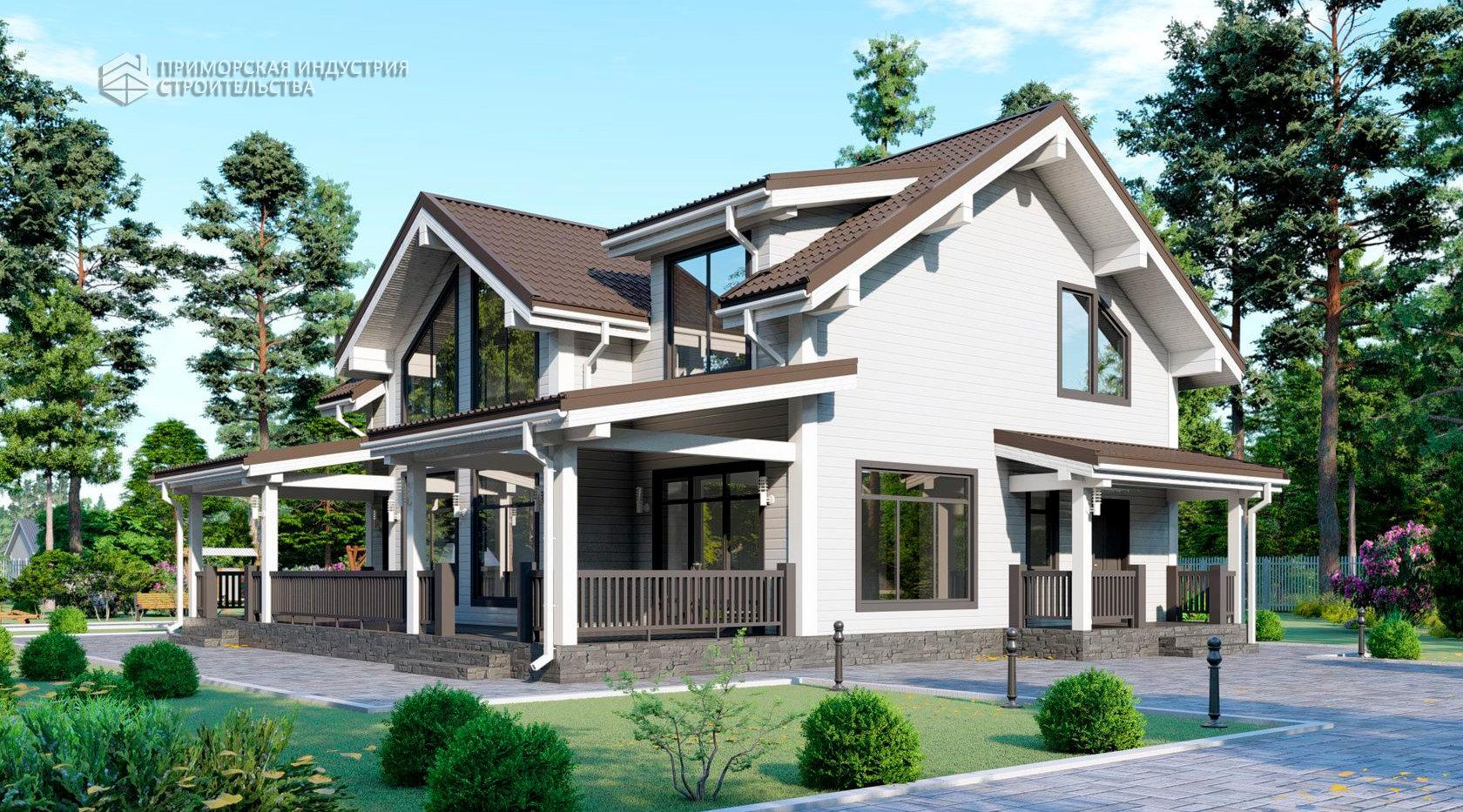 Проект дома HAUS-0-01