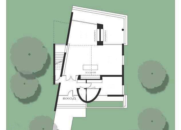 Планировка дома ANGAR-006