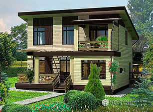 Современный дом за городом