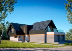 Проект современного дома ANGAR-015
