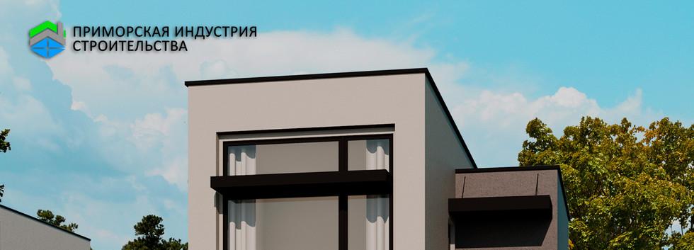 Проект маленького дома F-006