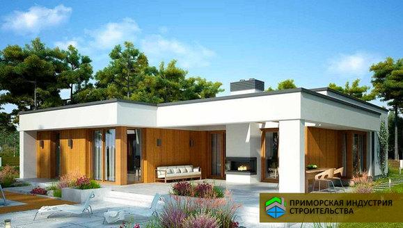 Проект современного дома H-005