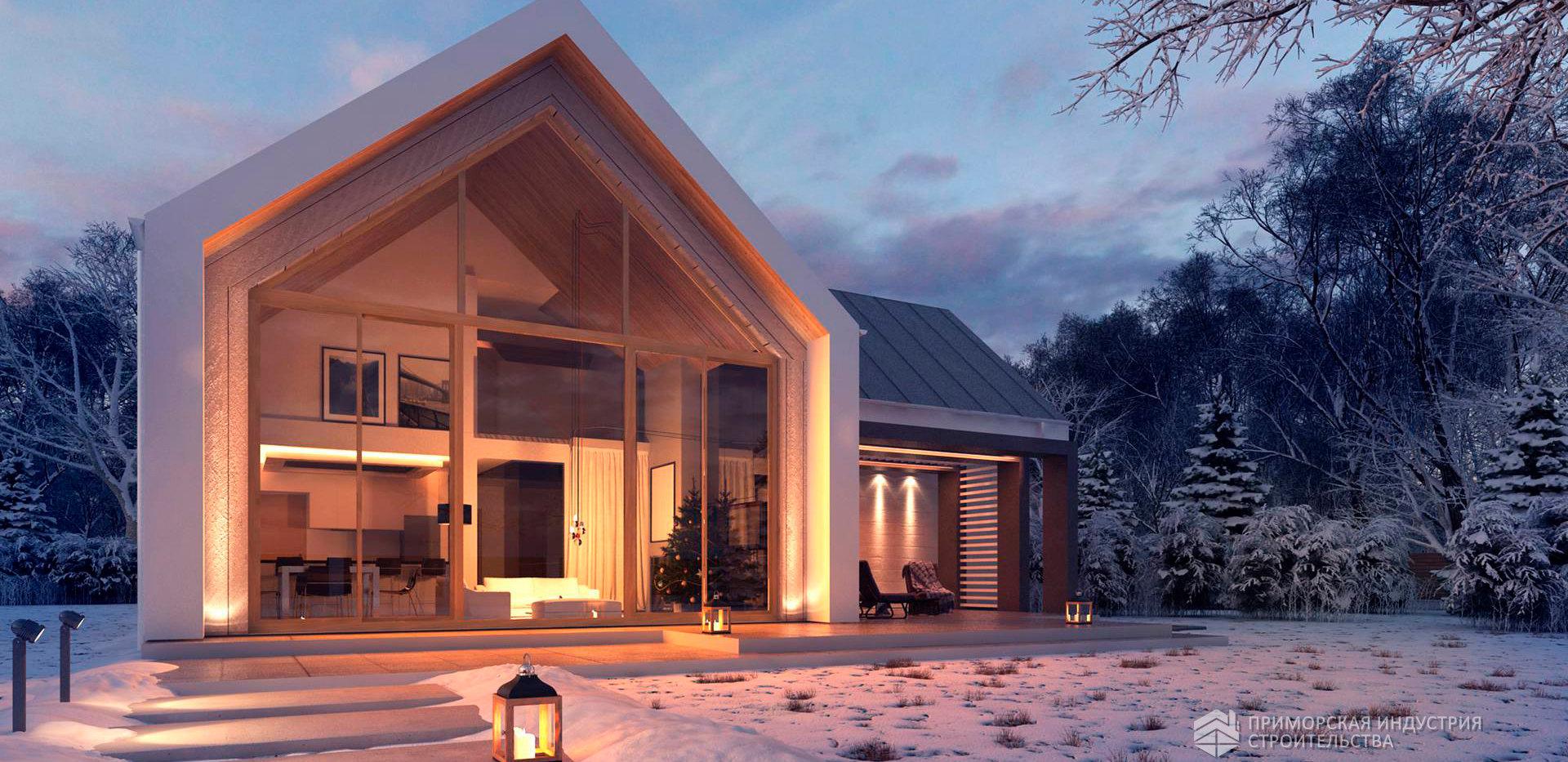Проект дома ANGAR-481